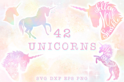 Unicorn SVG Bundle - The Complete Craft Collection