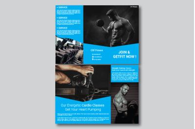 Fitness Brochure Tri Fold