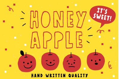 Honey Apple - Juicy Typeface