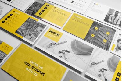 Buldozer - Construction Keynote Template