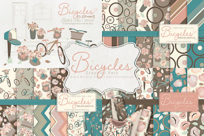 Bicycles 07 - Graphics Pack