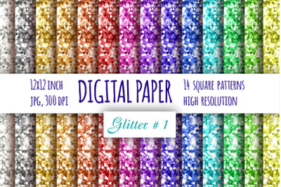 Glitter digital paper. Abstract background