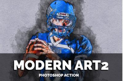 Modern Art2 Photoshop Action
