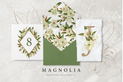 Magnolia - Watercolor Set