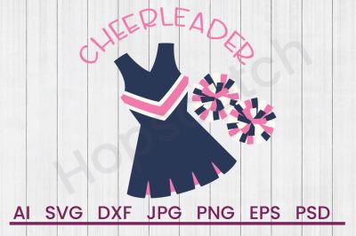 Cheerleader - SVG File, DXF File