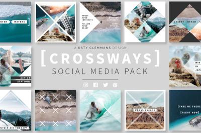 Crossways Social Media Template Pack