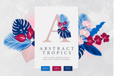 Abstract tropics Collection