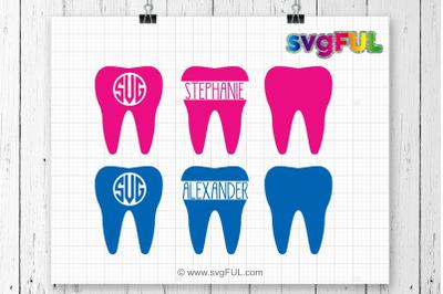Dentist Tooth Svg, Teeth Svg, Dentist SVG Files, Svg Files, Silhouette