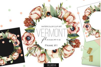 Vermont flowers. Frame #1.