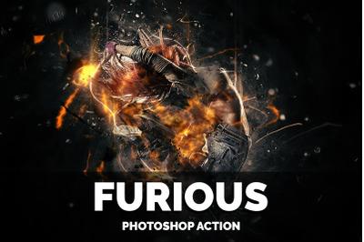 Furious Photoshop Action