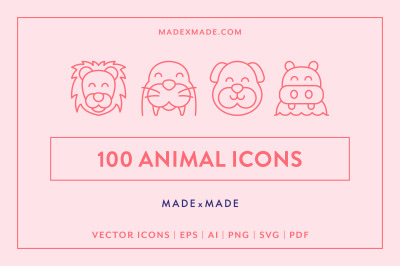Line Icons  Animals