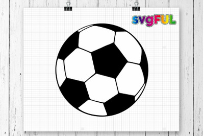 Soccer Ball Svg, Soccer Ball, Svg Files, Sports Svg, Silhouette Cut Files, Cricut Cut Files