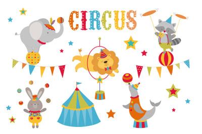 Colourful circus