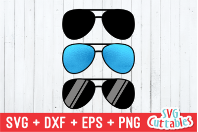 Aviator Sunglasses | Kids | SVG Cut File