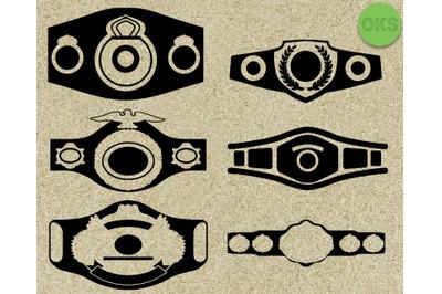 championship belt svg vector download