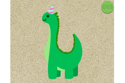 dino birthday party svg clipart vector download