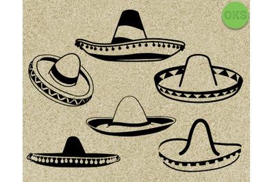 sombrero svg vector clipart download