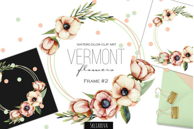 Vermont flowers. Frame #2.