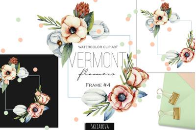 Vermont flowers. Frame #4.