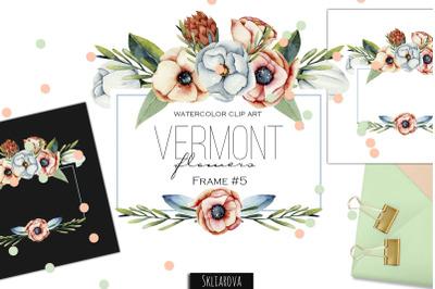 Vermont flowers. Frame #5.