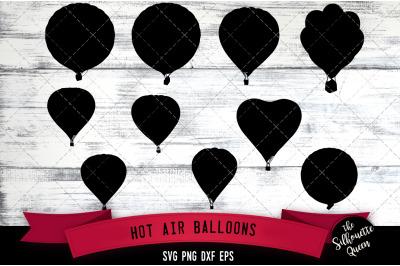 Air Balloons svg file, svg cut file, silhouette studio, cricut design