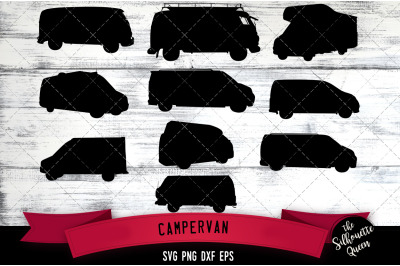 Campervan svg file, svg cut file, silhouette studio, cricut design spa