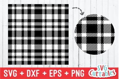 Plaid Pattern | SVG Cut File