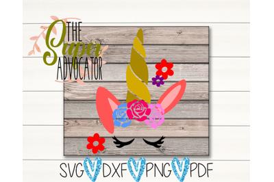 Unicorn Bunny SVG, PDF, PNG, & DXF Design