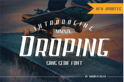 Droping Sans Font