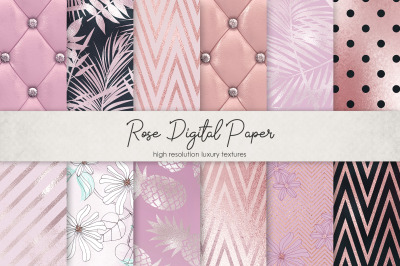 Rose Digital Paper