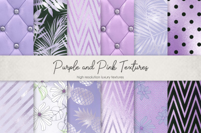 Purple and Pink Textures