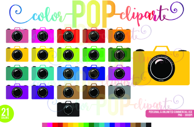 Camera Clipart Planner Clipart