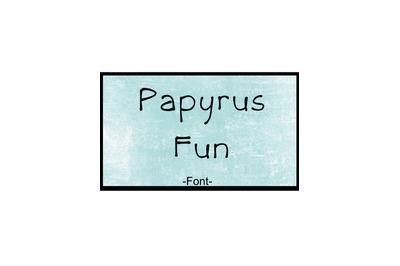 Papyrus Font Loose