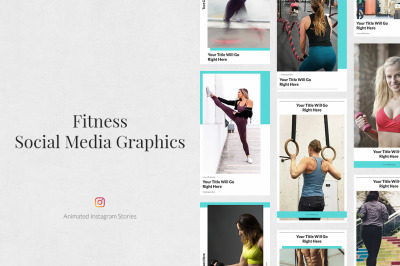 Fitness Animated Instagram Stories