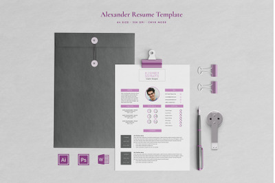 Alexander Resume Template
