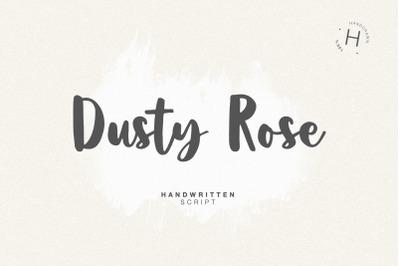 DUSTY ROSE SCRIPT