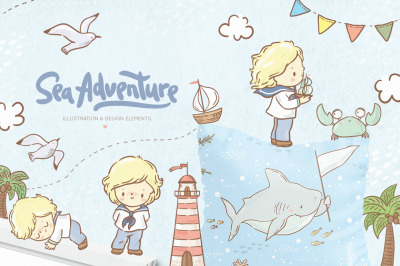 Sea adventure for boys