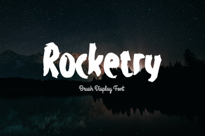 Rocketry Font