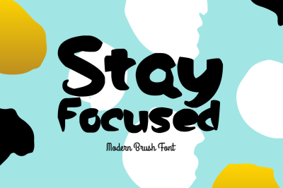 Stay Focused Font