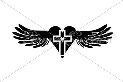 wings, cross