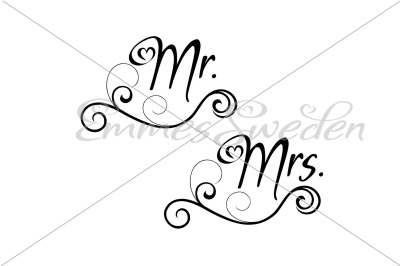 Mr. and Mrs.
