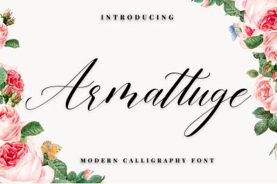 Armattuge - Script font