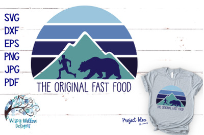 The Original Fast Food | Funny Camping SVG Cut File