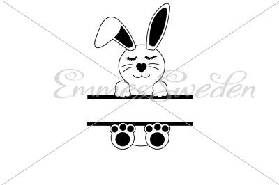 Bunny split svg