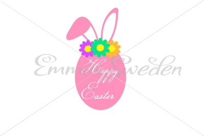 Happy easter, easter egg svg