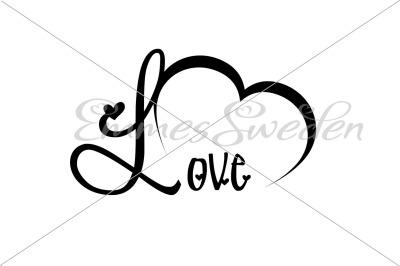 Love svg