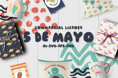 5 de mayo fiesta! - Comercial LICENSE