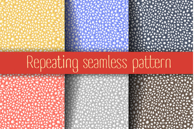 Set of abstract seamless
