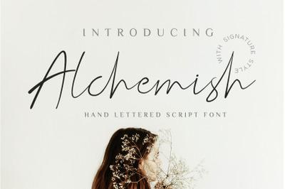 Alchemish Signature Script