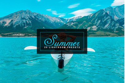 20 Summer Lightroom Presets
